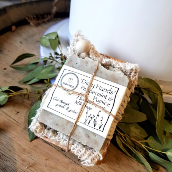 Luxurious handmade goat milk soaps and gift sets Fochabers